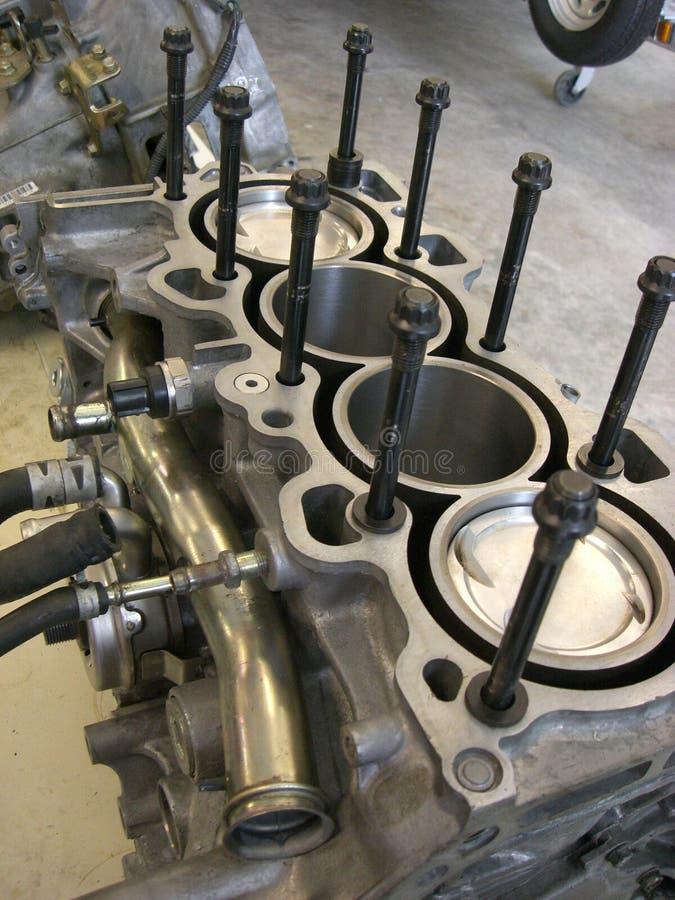 мотор двигателя блока стоковая фотография rf