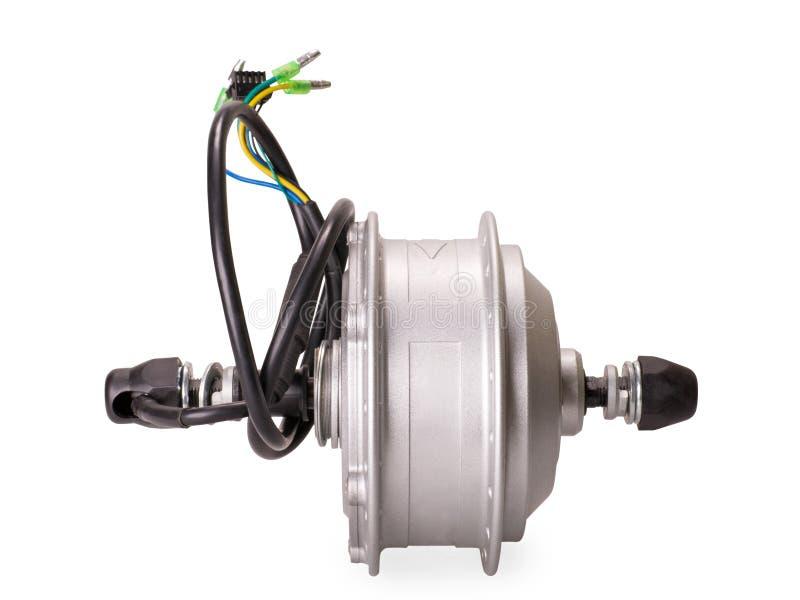 Мотор для электрического велосипеда стоковое фото
