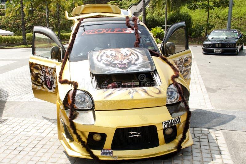 мотор 2010 малайзийца масленицы coty2u стоковая фотография