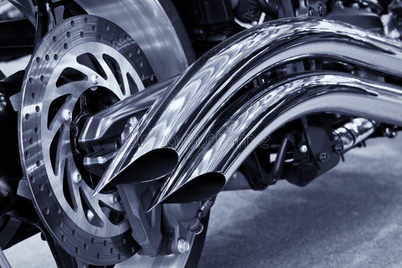 мотоцикл вытыхания стоковые фотографии rf