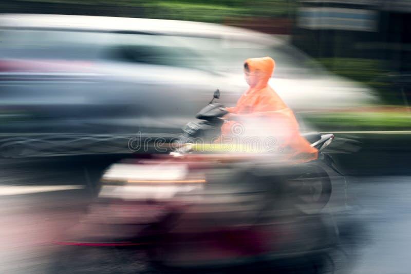 Мотоцикл катания в Бали стоковая фотография rf