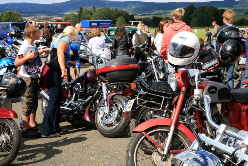 мотоцикл случаев стоковая фотография