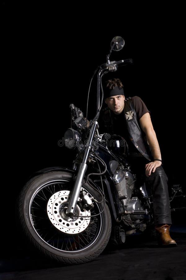 мотоцикл тяпки стоковое изображение