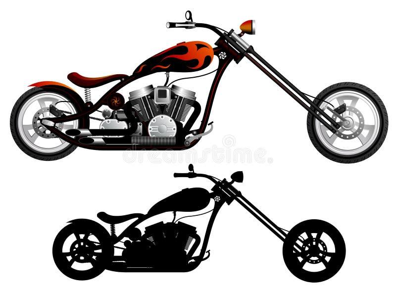Download Мотоцикл иллюстрация вектора. иллюстрации насчитывающей иллюстрация - 33728159