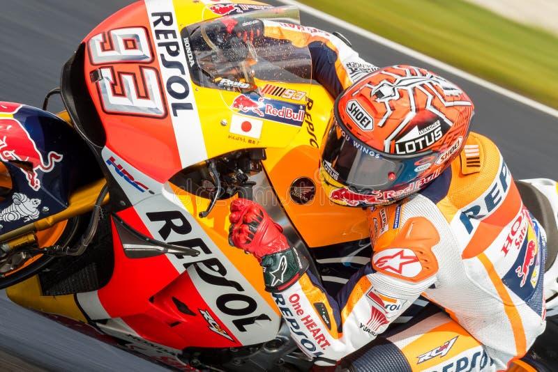 Мотоцикл 2016 Michelin австралийский Grand Prix стоковое изображение rf