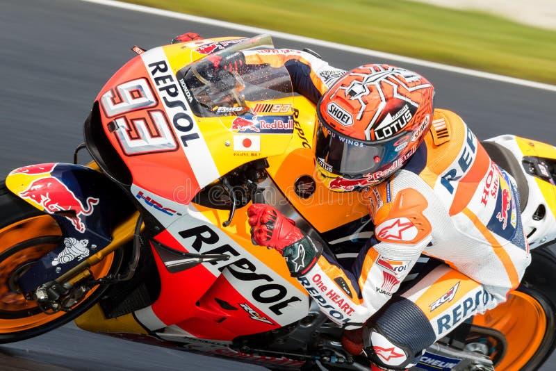 Мотоцикл 2016 Michelin австралийский Grand Prix стоковые фото