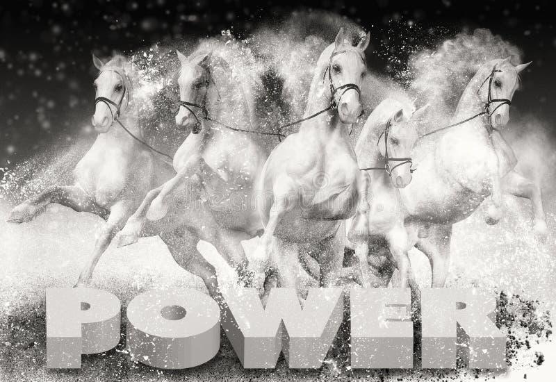Мощность в лошадиных силах стоковая фотография rf