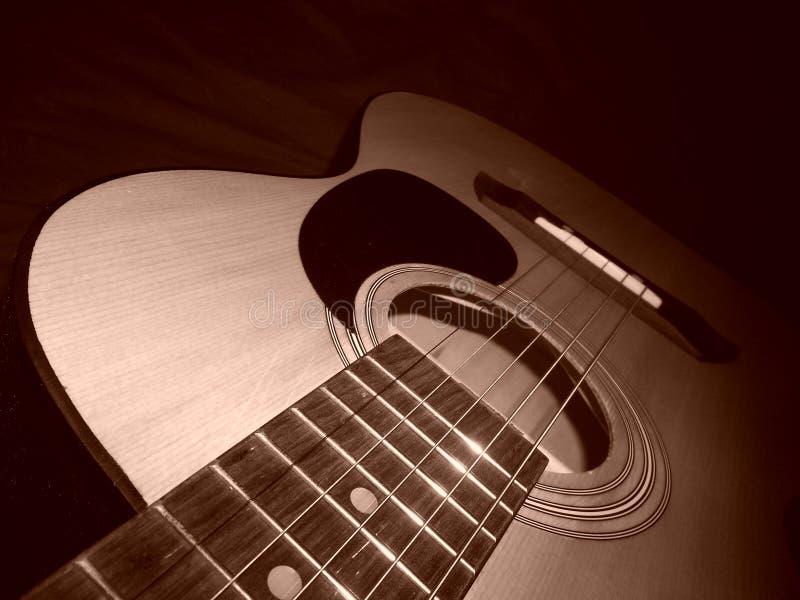 Моя гитара; музыка жизнь стоковое изображение rf
