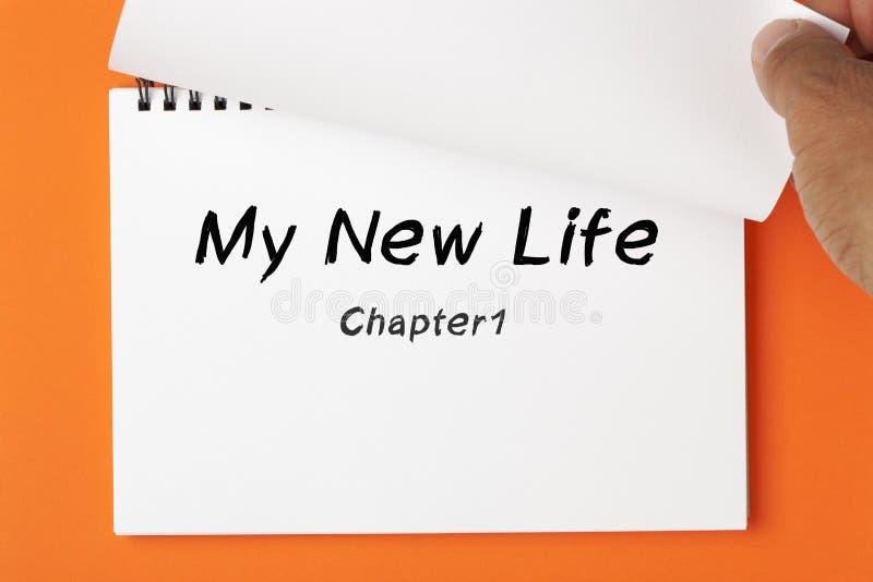 Моя новая концепция жизни стоковое изображение rf