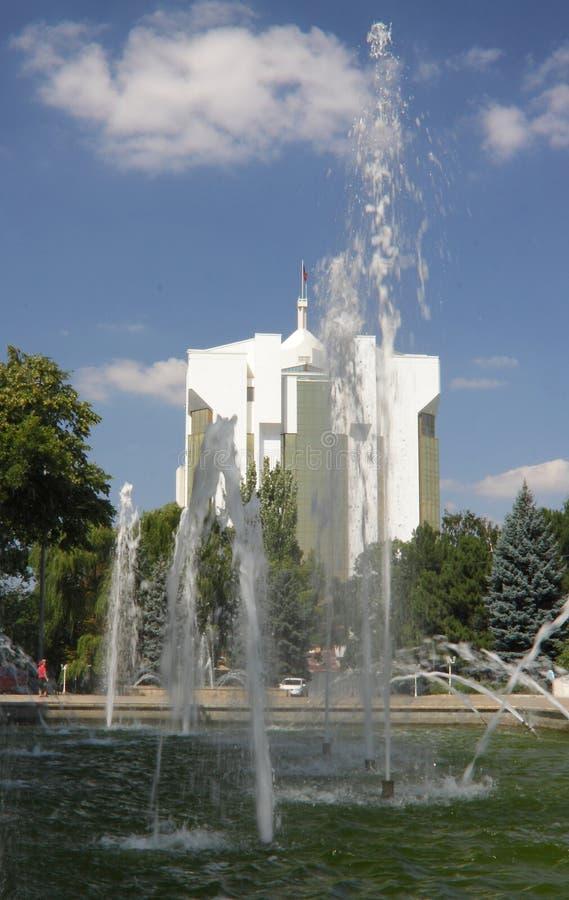 Молдавия, Chisinau/Kishinev, президентский дворец стоковые фото