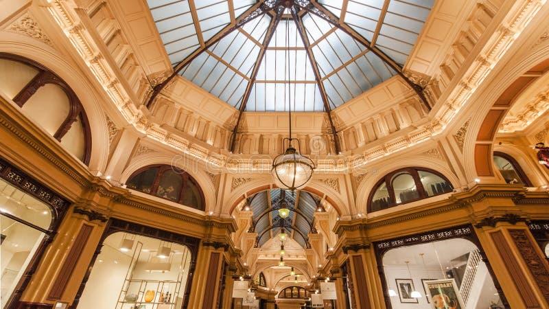 Мол аркады Мельбурна стоковое фото