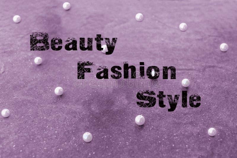 Мода красоты и концепция стиля стоковое изображение rf