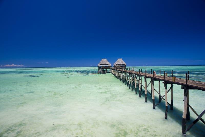 Мола на острове специи стоковая фотография