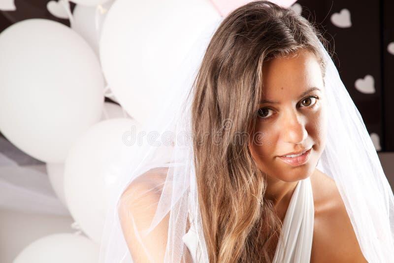 Мода невесты стоковая фотография rf