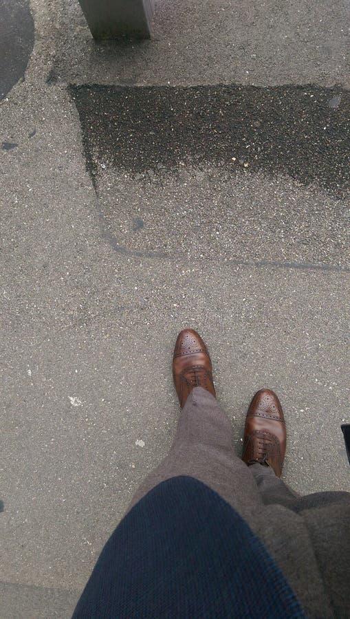 Мода обувает брюки носок стоковые изображения