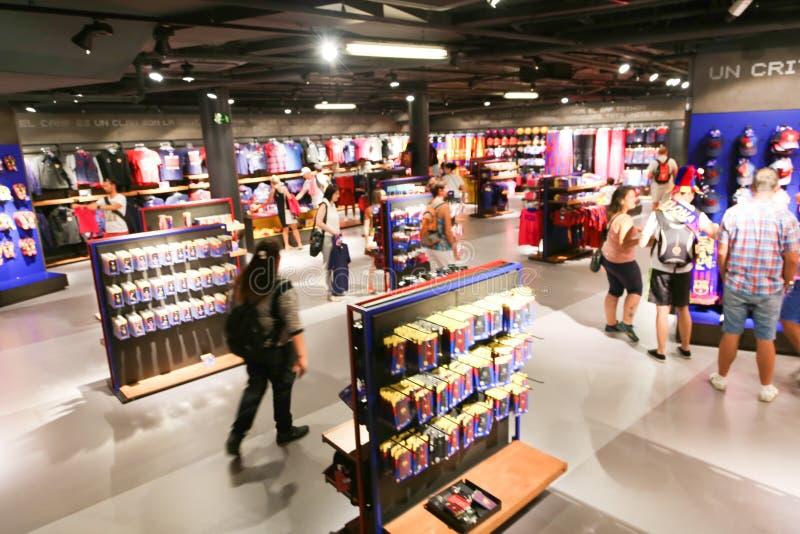 Мол - Барселона, Испания стоковые фото