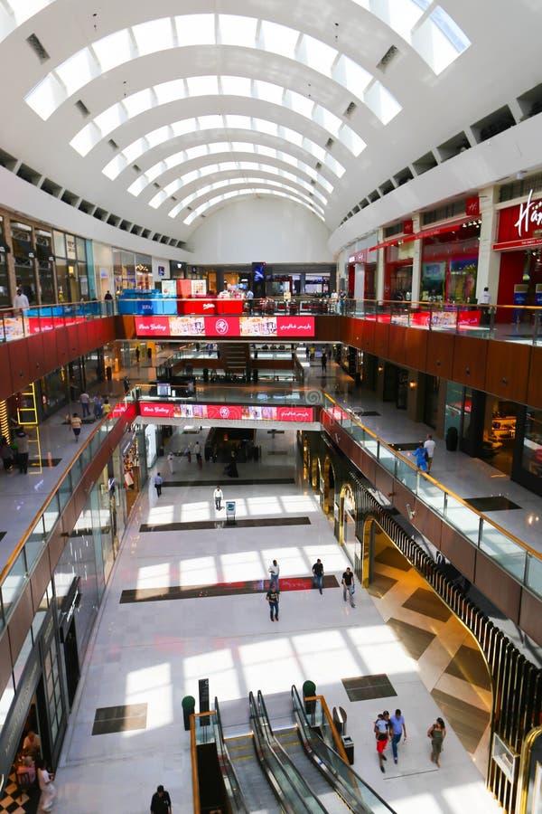Мол Дубай торгового центра стоковое изображение rf