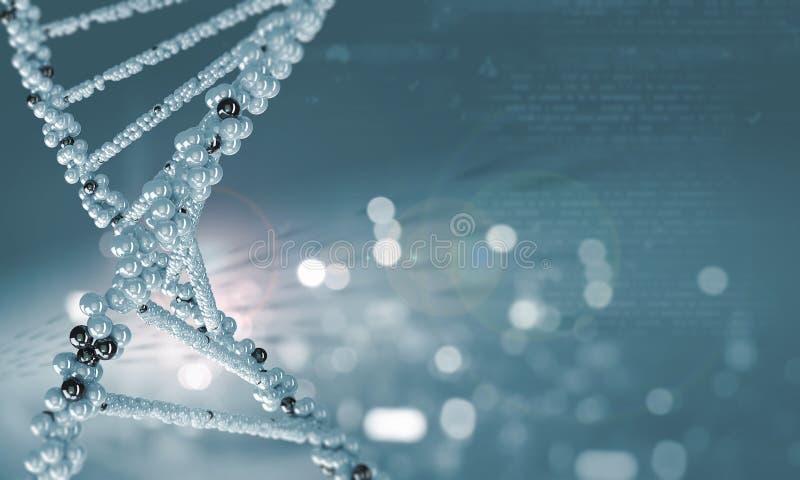 Молекула дна стоковое фото