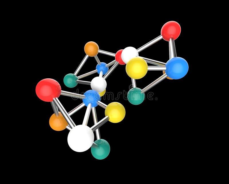 молекулярная структура стоковое фото rf
