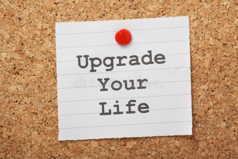 Модернизируйте вашу жизнь стоковое изображение rf
