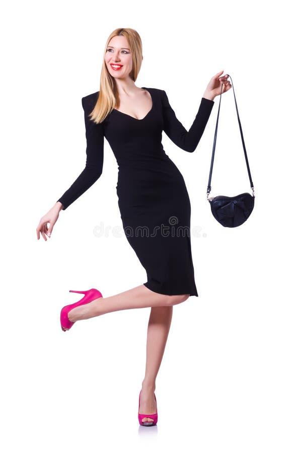 Модельная нося модная одежда стоковая фотография