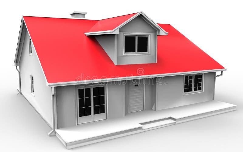 Модельная дом бесплатная иллюстрация