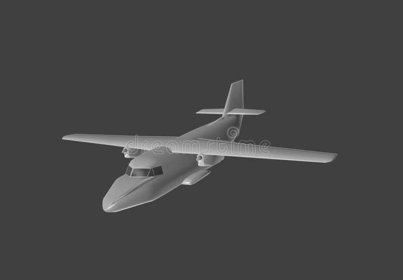 Модельные воздушные судн в 3D бесплатная иллюстрация