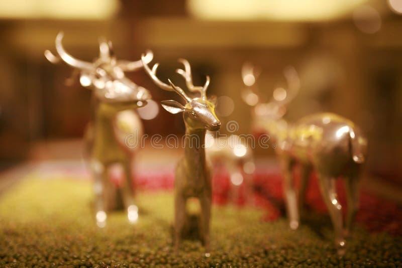 Модельные олени стоковая фотография