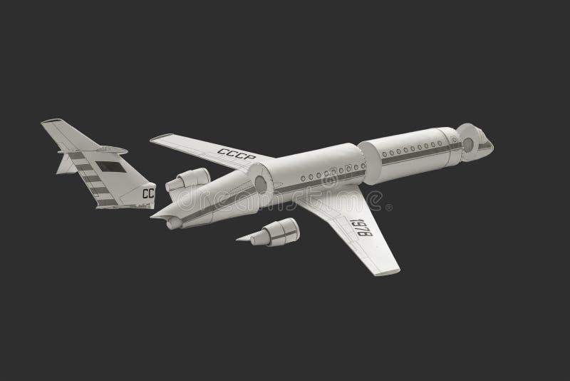 Модельный самолет. стоковое фото rf
