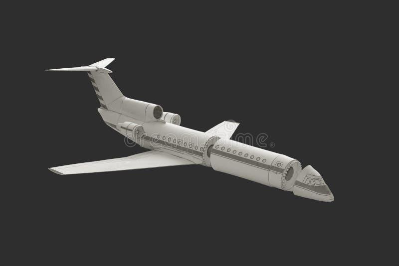 Модельный самолет стоковые изображения