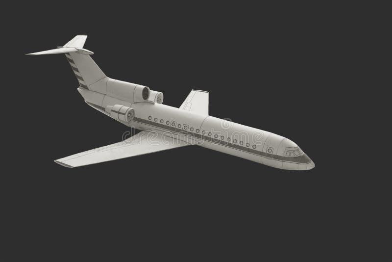 Модельный самолет стоковые изображения rf