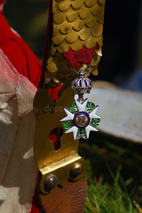 Модель воинской награды стоковая фотография