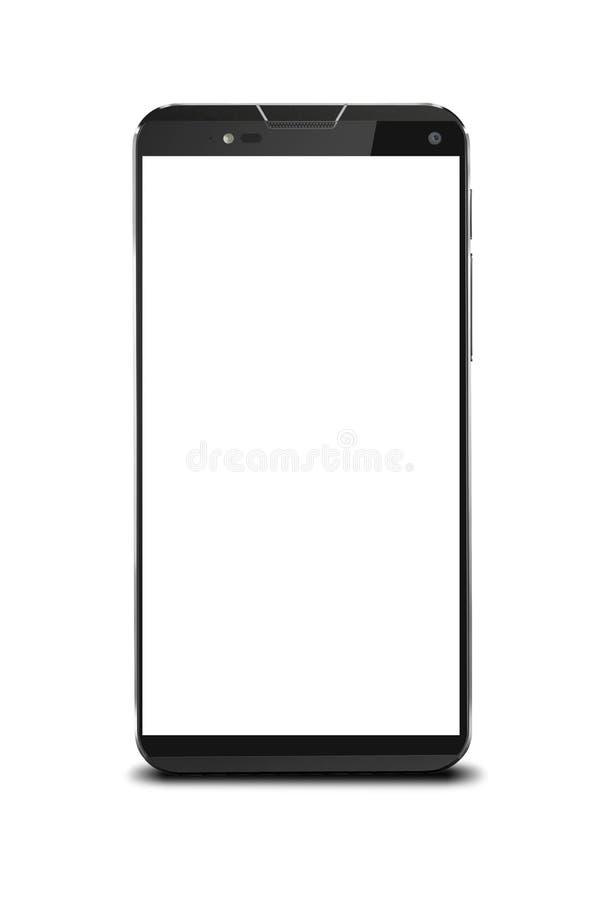 Модель-макет Smartphone иллюстрация вектора