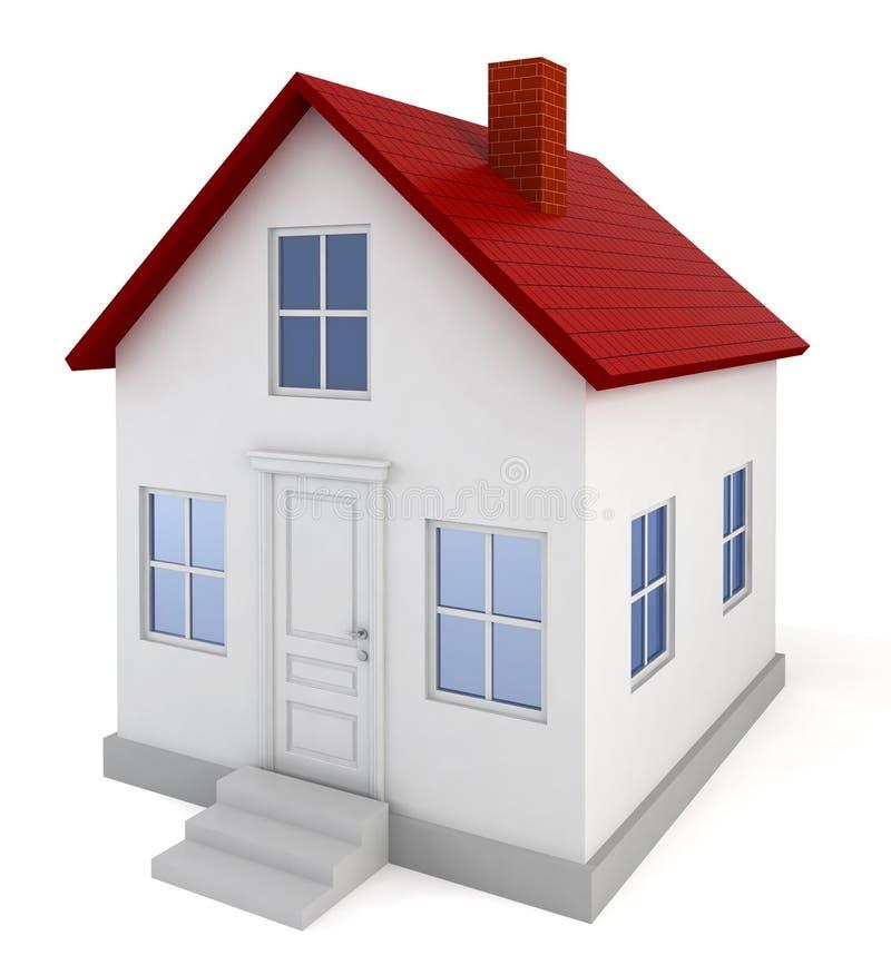 Модель дома иллюстрация вектора