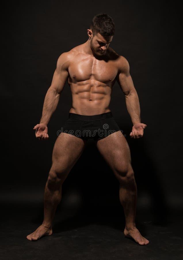 Модель фитнеса стоковое изображение rf