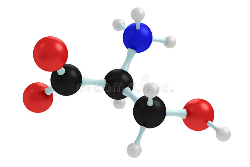 Модель серина стоковое фото rf
