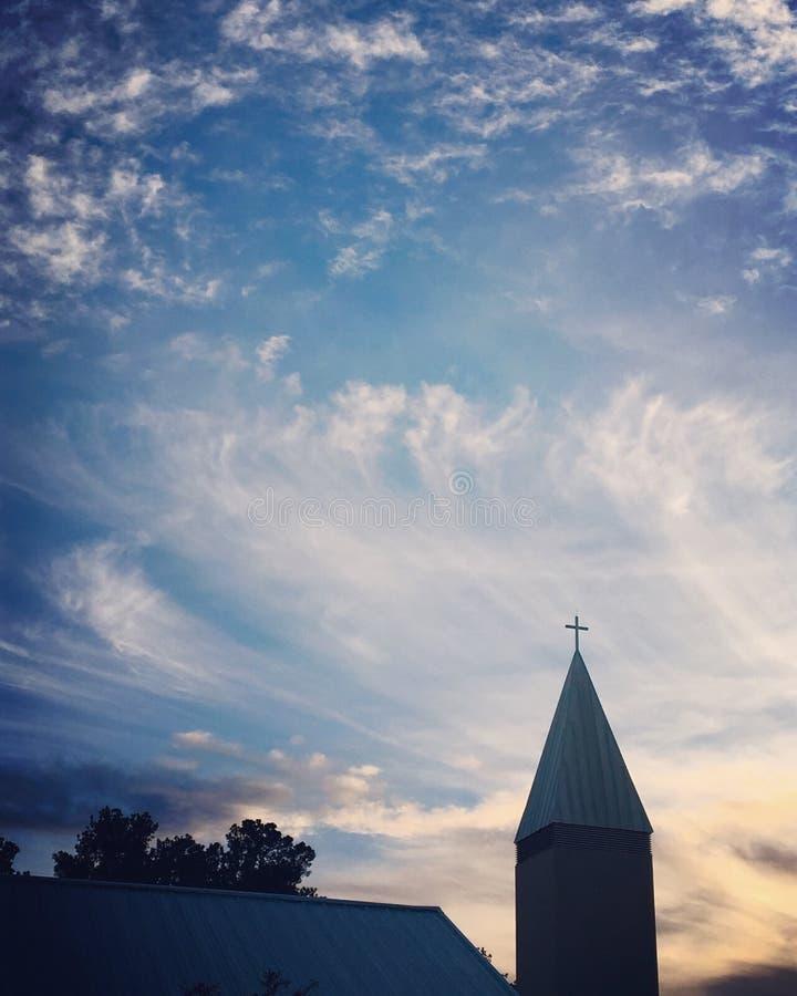 Молитвы восходя стоковое изображение rf