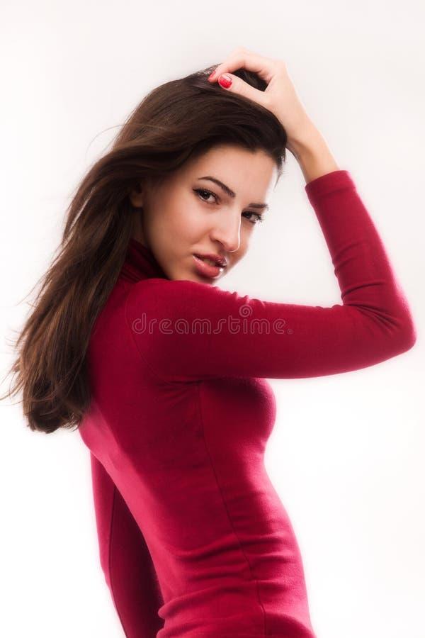 Модная девушка стоковые изображения rf