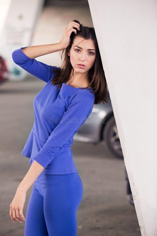 модная девушка стоковое фото rf