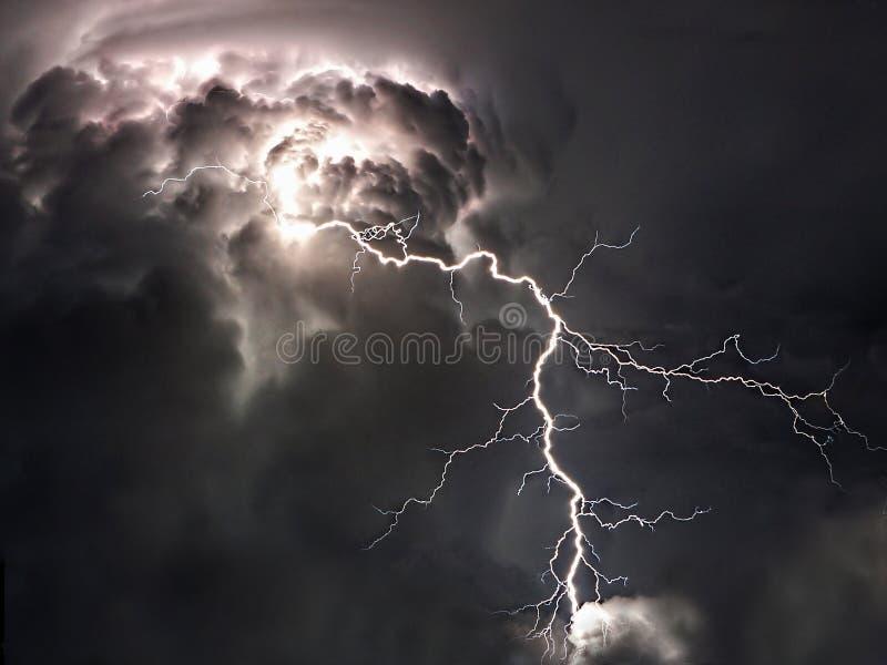 Молния лета стоковая фотография