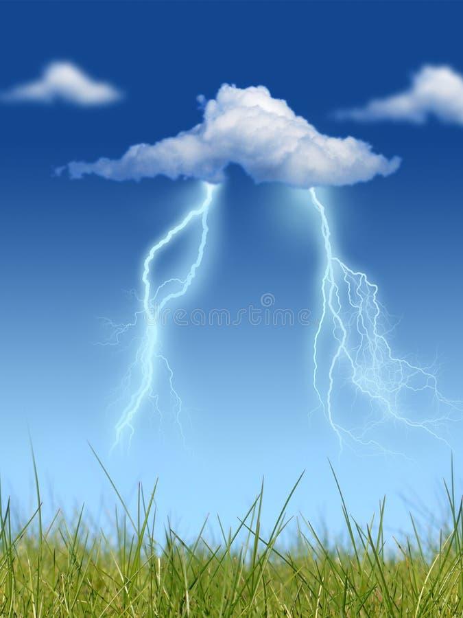 Молния. стоковые фото