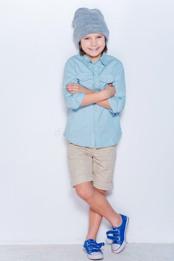модный мальчик стоковые фотографии rf