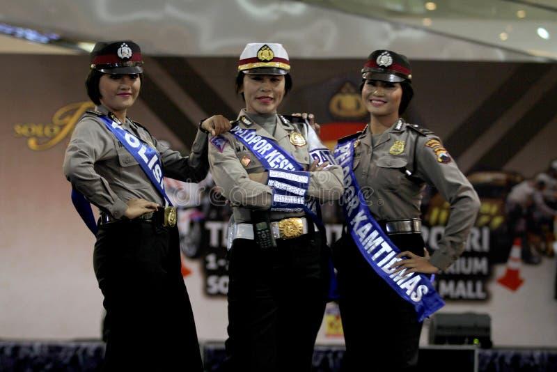 Модный парад полиции стоковые изображения