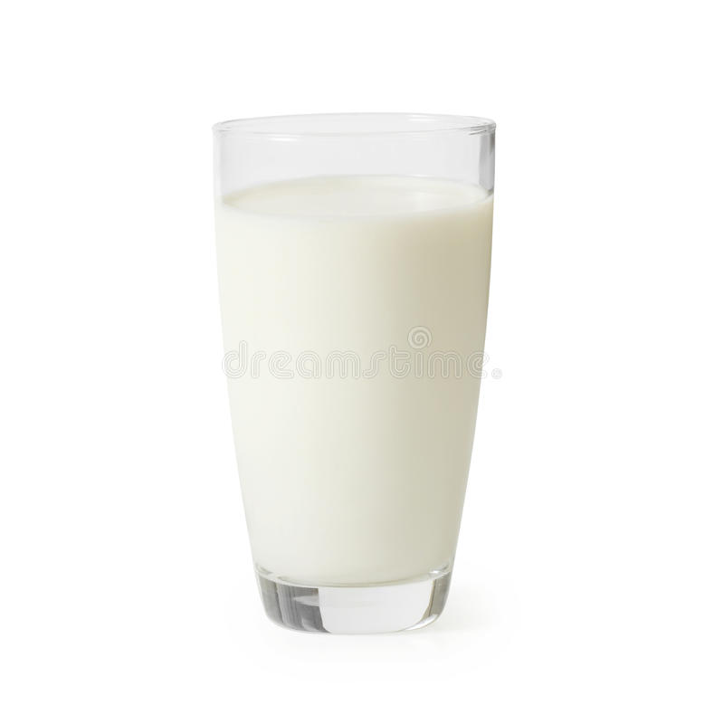 Молоко в стекле стоковые изображения rf