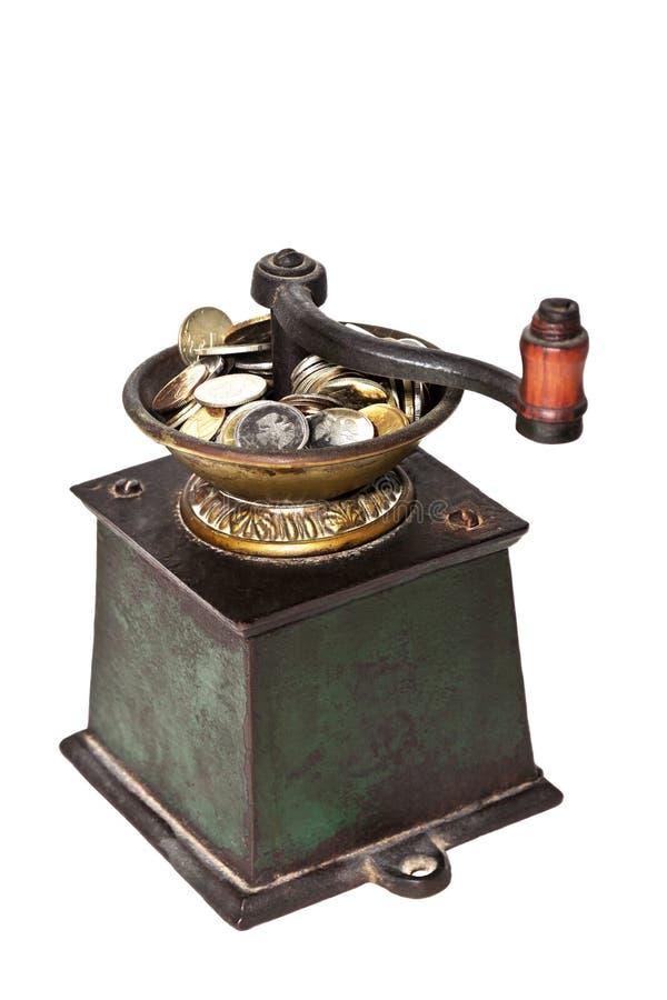 Молотилка кофе стоковое фото rf