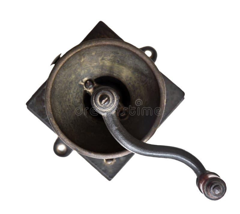 Молотилка кофе стоковое изображение rf