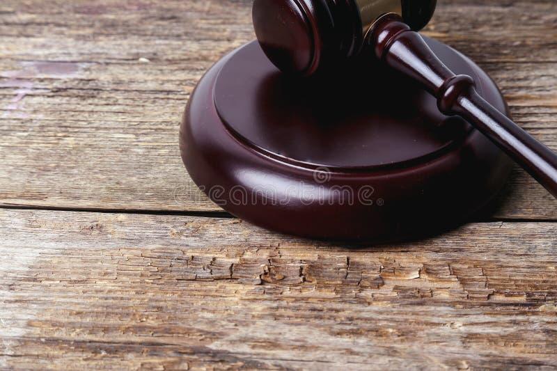 Молоток судьи стоковое изображение rf