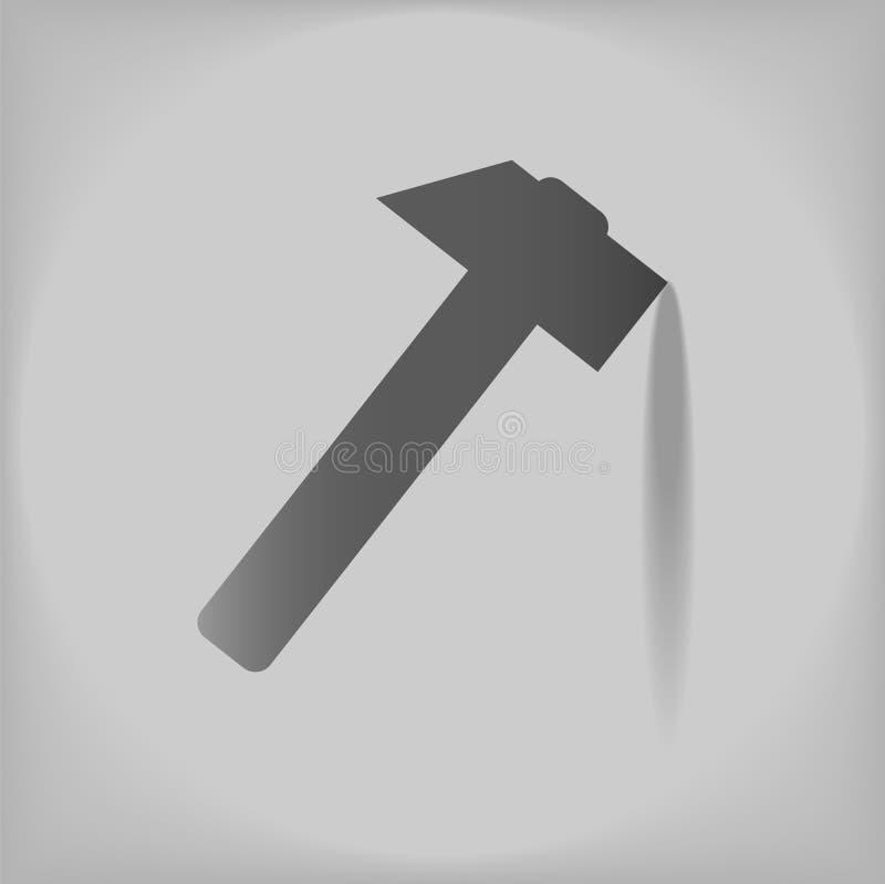 Download Молоток иллюстрация вектора. иллюстрации насчитывающей символ - 40581821