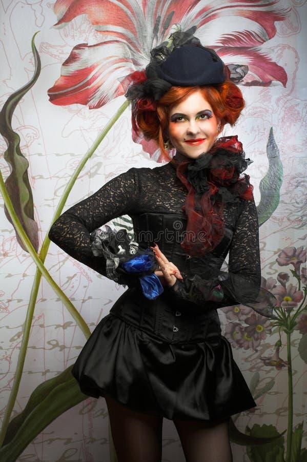 Download Молодая дама стоковое фото. изображение насчитывающей наконечников - 40581394