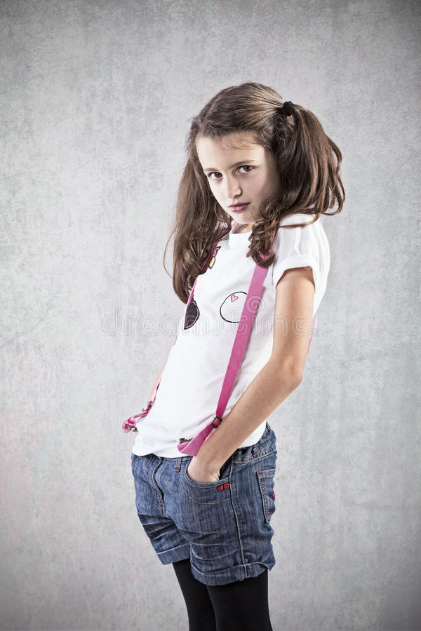 Молодая девочка стоковое изображение rf